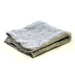 couverture grise de déménagement