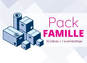 pack déménagement famille