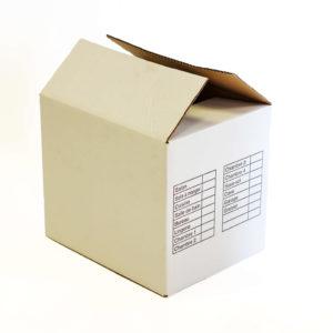 Carton-livre sur fond blanc